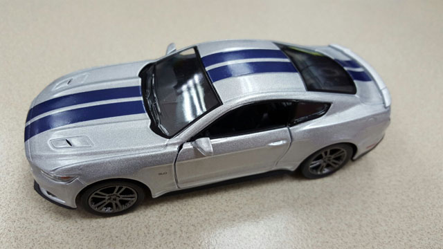 Игрушка детская:1:38 Машина металл. Ford Mustang 2015 Police